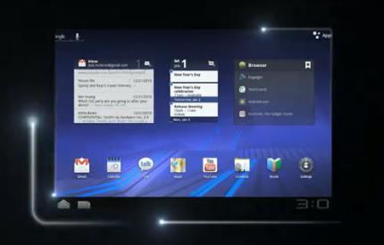 "Ecco il primo tablet 3D ""glasses free"": LG G-Slate ..."