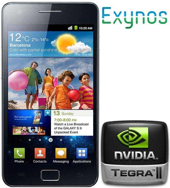 Il Samsung Galaxy S 2 con Nvidia Tegra 2 avrà un display ...