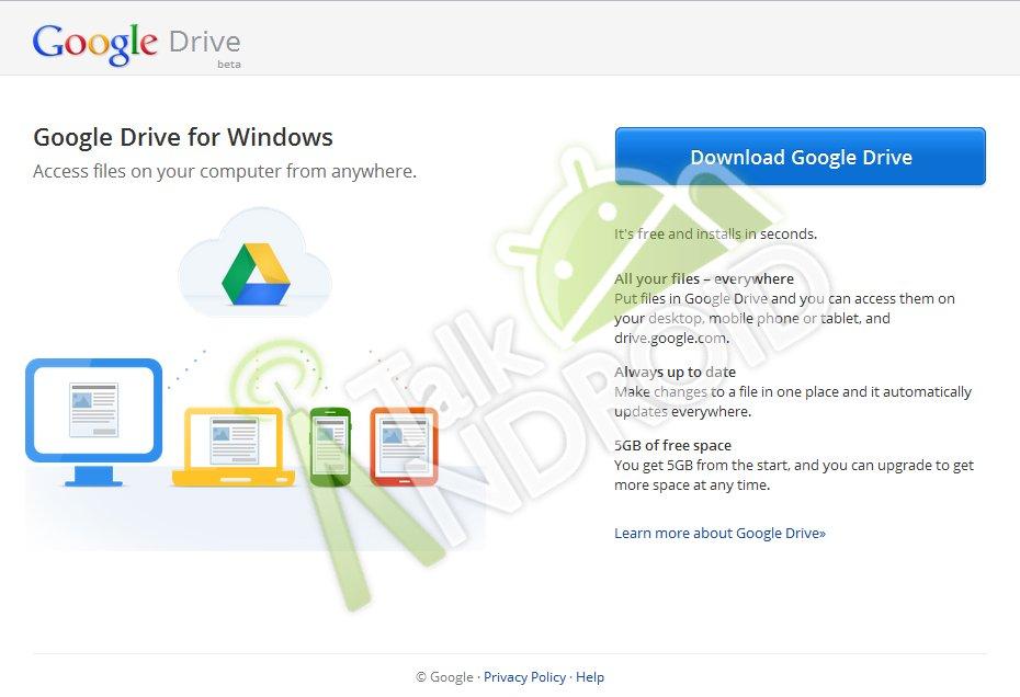Google Drive, in arrivo versione Beta e 5 GB di storage? - Tutto ...