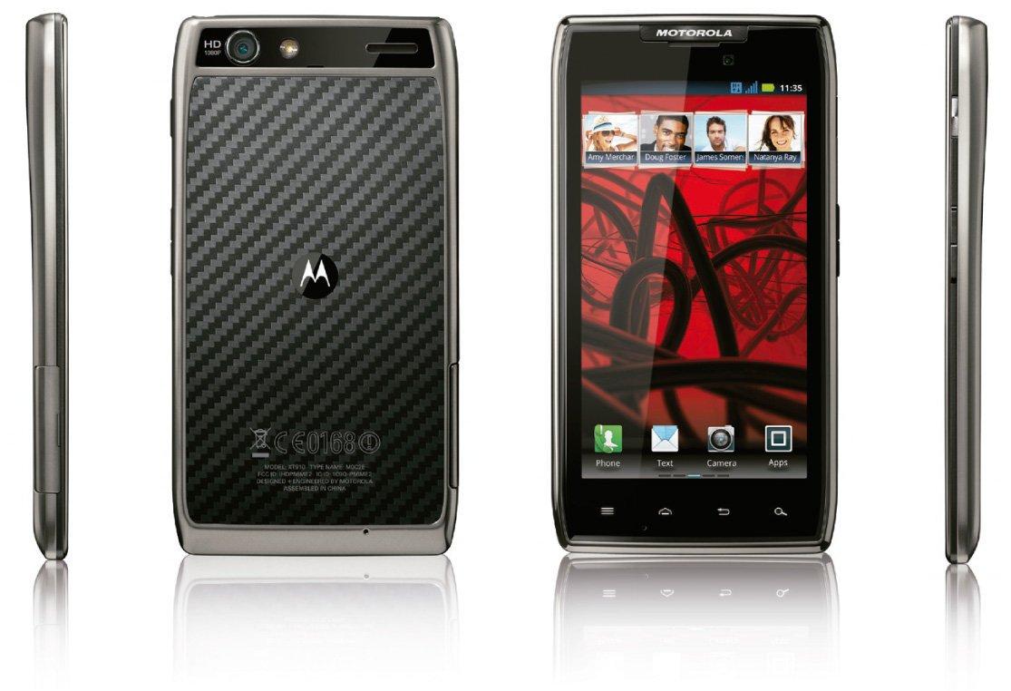 Motorola Razr E Razr Maxx Android Ics Sar 224 Rilasciato A