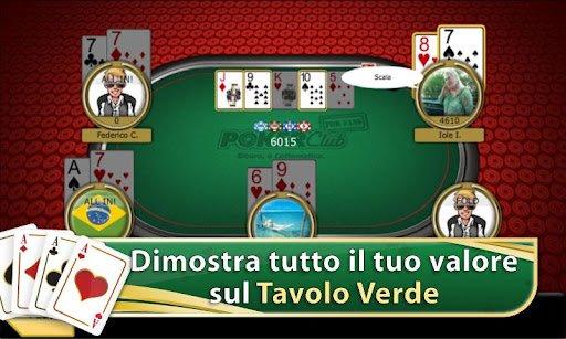 Scaricare poker club