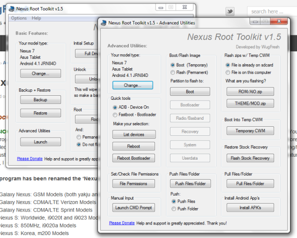 download  root toolkit 1 5  root facile su tutti i nexus con android jelly bean