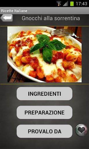 App of the day 10q ricette italiane tuttoandroid for Ricette italiane