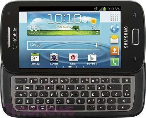 Samsung Galaxy S Blaze Q Un Android Con Tastiera Qwerty