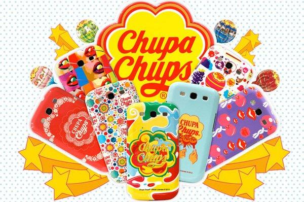 Le Cover Chupa Chups Per Galaxys3 Le Custodie Dei Famosi