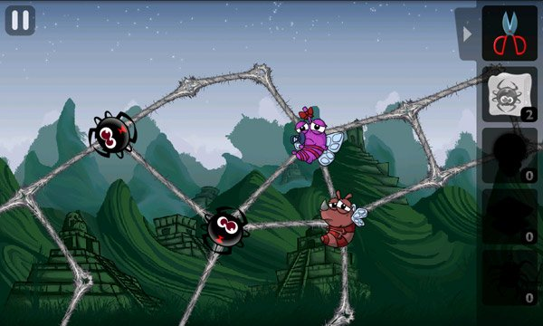 Greedy spiders 2 su google play arriva il secondo for Forbice insetto