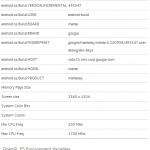 Nexus 10: svelate tutte le stratosferiche caratteristiche tecniche