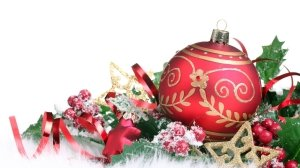 Christmas-Ornaments-And-Red-Berries