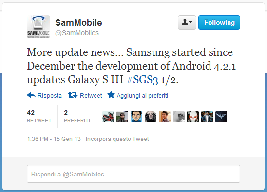galaxy s3 android 4.2.1