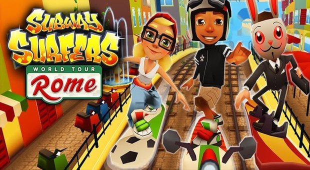 Subway Surfers per iPhone, iPod touch e iPad dall'App Store su