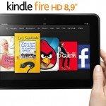 Amazon Kindle Fire HD 8.9 disponibile in Italia