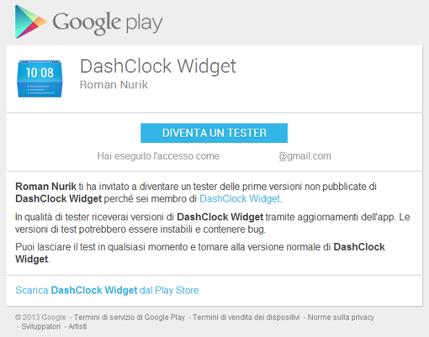 DashClock Beta