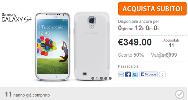 Galaxy S4 Offerta