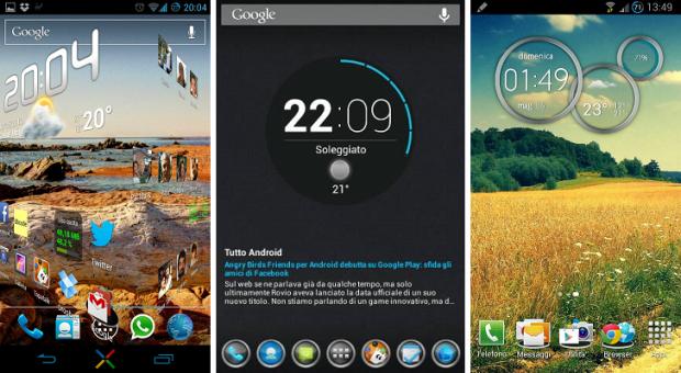 personalizzazione home android 2