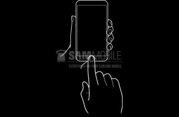 samsung impronte digitali smartphone