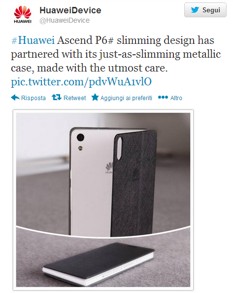 Ascend P6 Huawei
