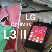 LG optimus L3 II copertina small