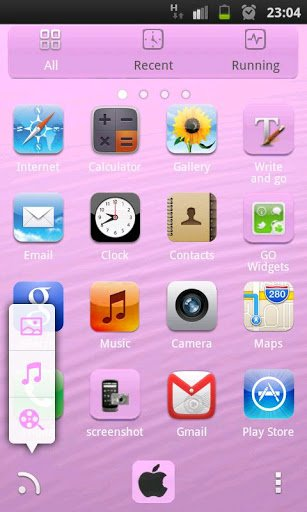 iPhone 5 Go Launcher EX