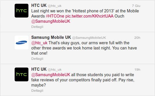 Twitter-HTC-Samsung