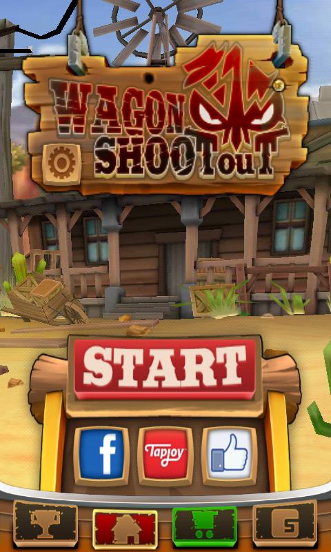 Wagon Shootout per Android