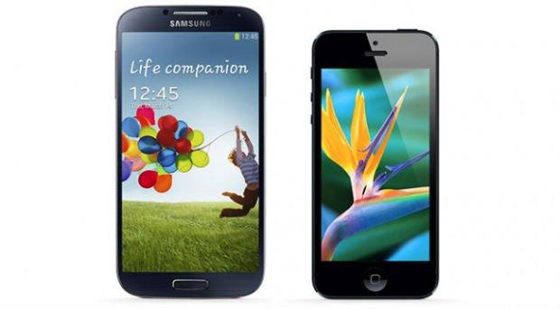 Samsung S4 Vs. iPhone5