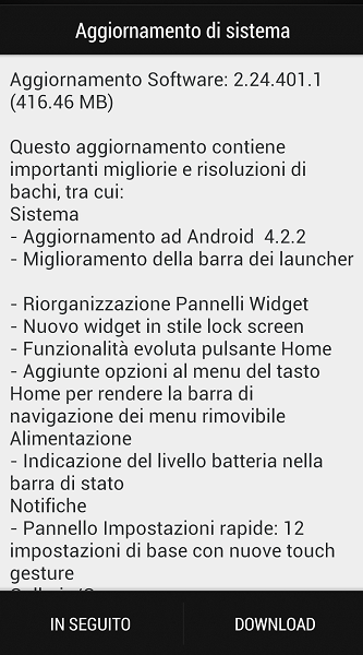 Android 4.2.2 HTC One
