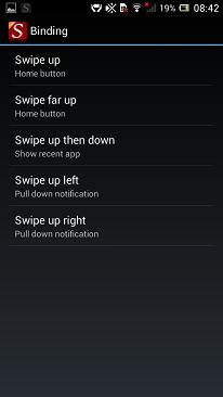 Swipe Home Button APK