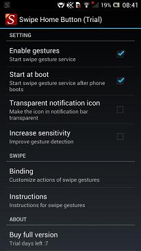 Swipe Home Button Download