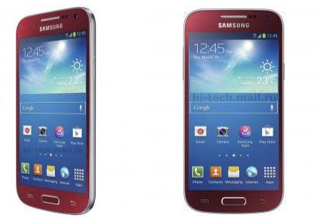 galaxy s4 mini red rosso