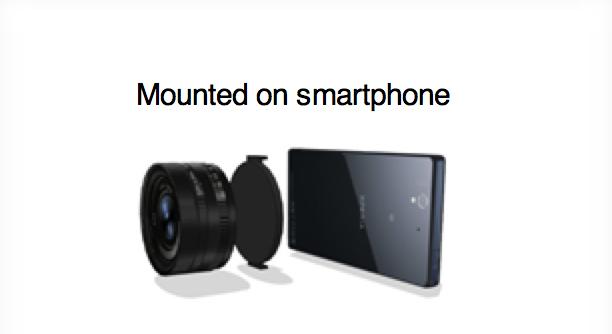 sony camera smartphone
