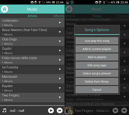 Player Android Gratis