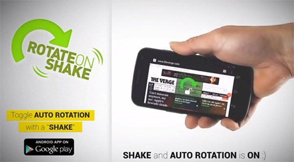 Rotate-on-Shake