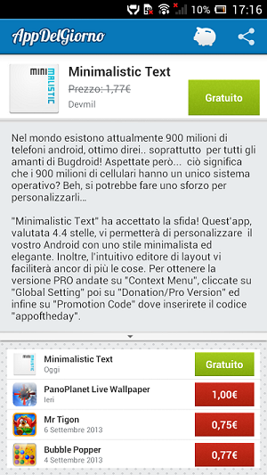Minimalistic Text APK Gratis Download
