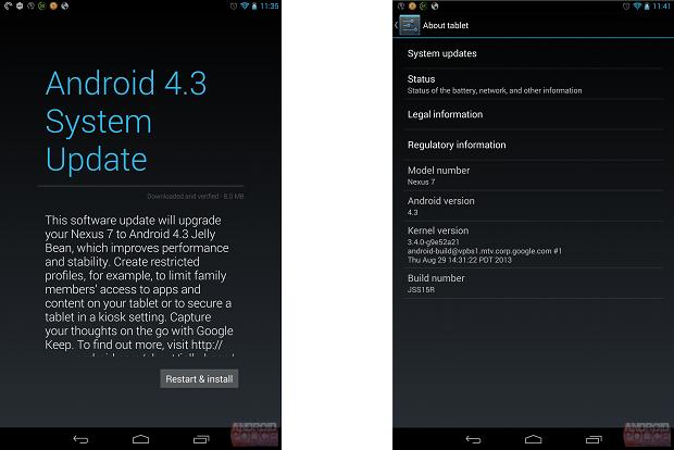 Nexus 7 2013 JSS15R