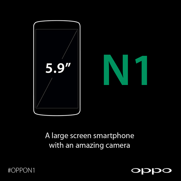 Oppo N1 Display 5,9 Pollici
