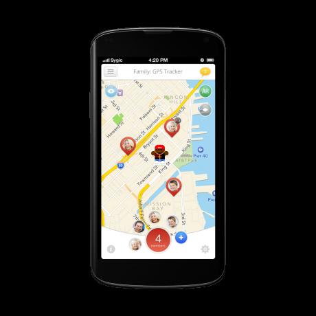 Android_Sygic GPS Tracker