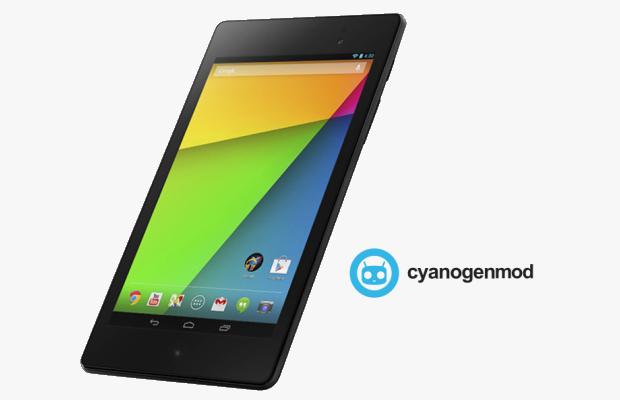 nexus 7 2013 cyanogenmod