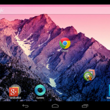 Android 4.4 Launcher