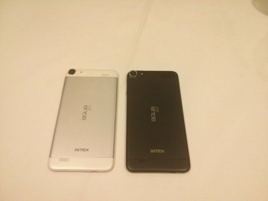 Intex octacore smartphone colours