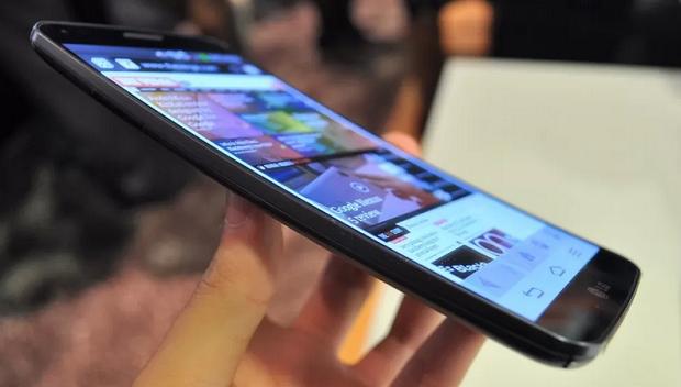 LG G Flex può essere piegato come mostra un video  a1db3778716