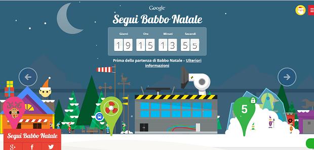 Segui Babbo Natale Google Campobassopellicce