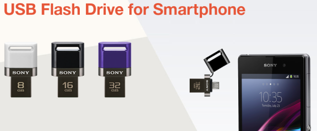 sony usb pen drive smartphone tablet