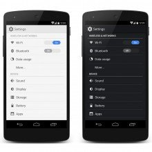 android-mock-settings