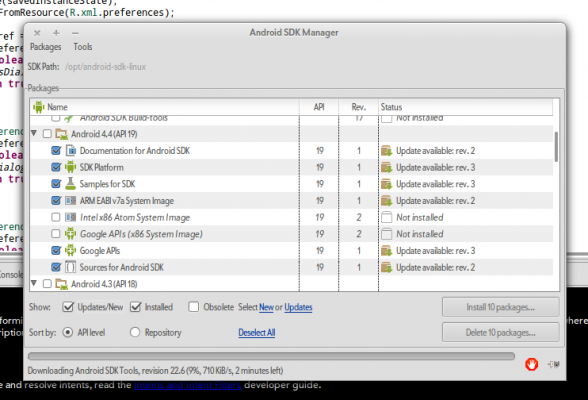 Google APIs x86