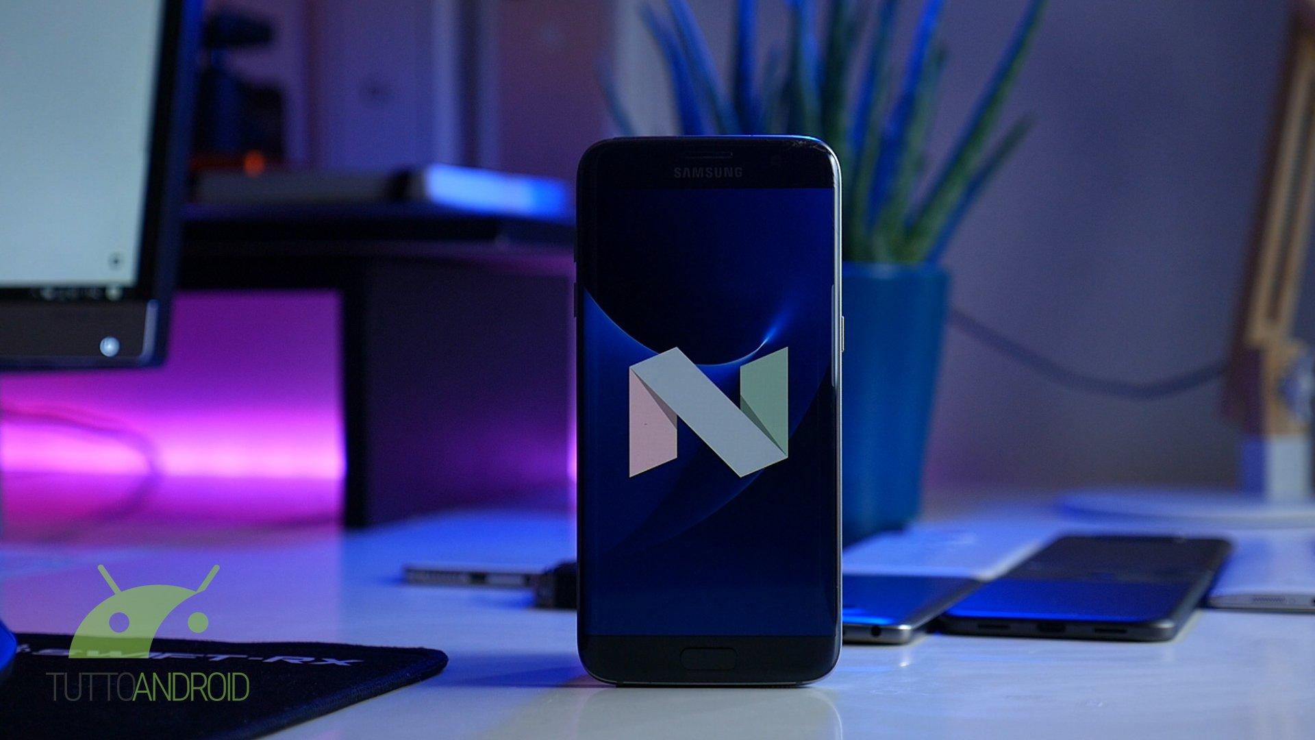 Samsung Galaxy S7, ecco Nougat: con Split Screen sempre più app aperte