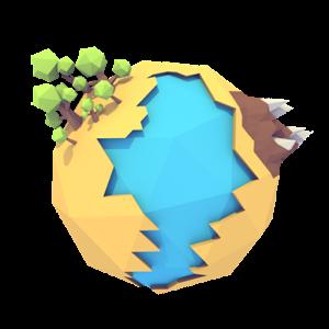 Ricostruite i pianeti uno alla volta nel puzzle game Lunaform Free