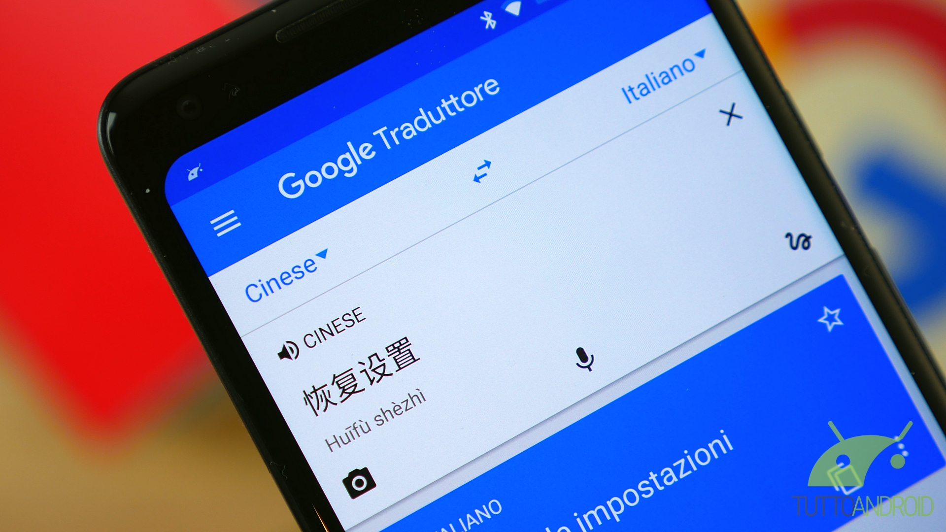 scaricare in inglese google traduttore