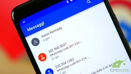 messaggi android google