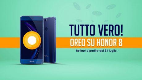 Honor 8 Android 8.0 Oreo