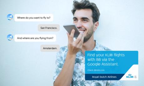 4e2bdd182264 KLM e Google Assistant insieme per aiutarci a trovare il volo ideale